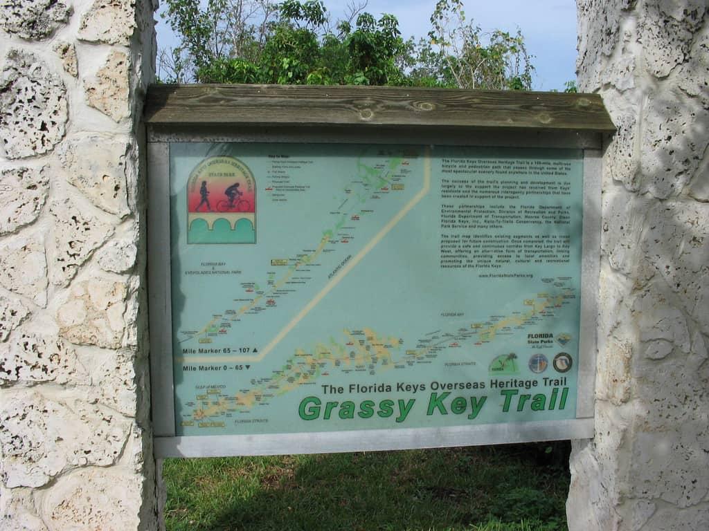 entrance to grassy key trail  curry hammock state park in the florida keys   florida rambler  rh   floridarambler
