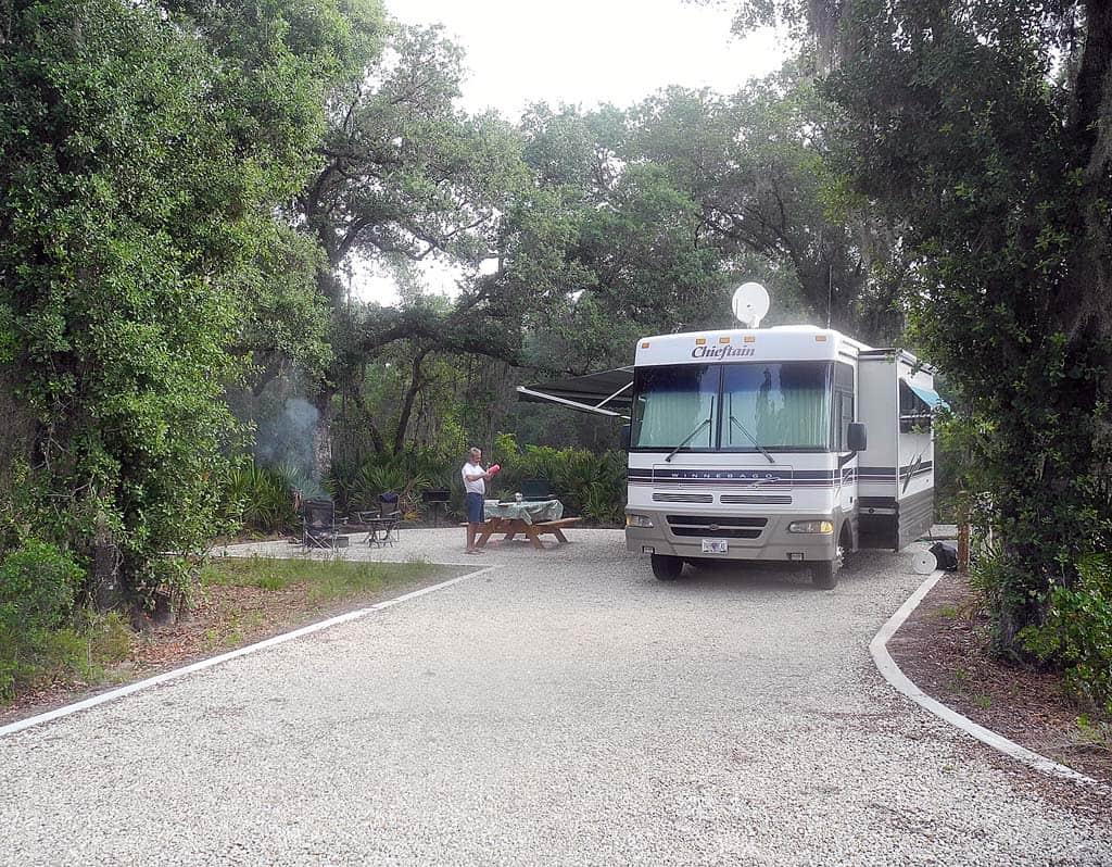 Myakka new site75 florida rambler for Camping grounds with cabins
