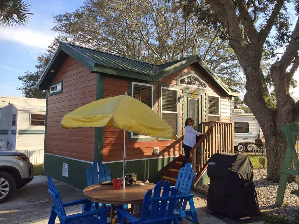 Deluxe Cabin At The Okeechobee KOA