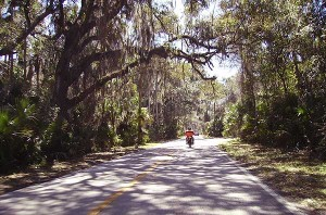 Florida scenic roads: Ormond Beach Scenic Loop and Trail