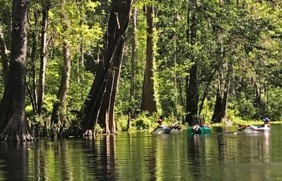 Tubing Ichetucknee Springs State Park. (Photo: Bonnie Gross)