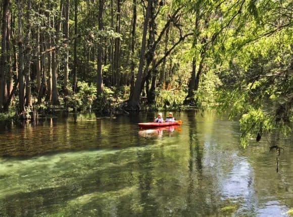 Canoe at Ichetucknee Springs State Park. (Photo: Bonnie Gross)