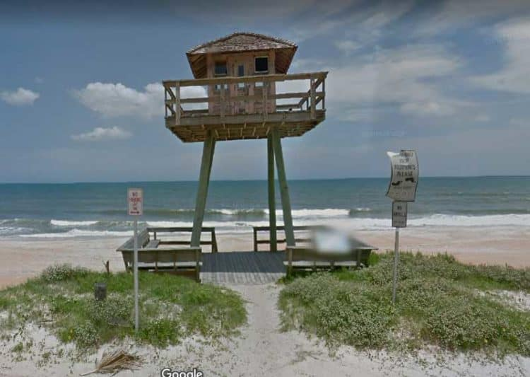 Along the Ormond Loop Scenic Trail, watch for the historic submarine watchtower along the beach.