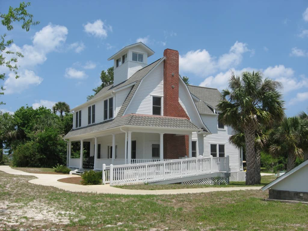 Eldora Statehouse and Museum at Canaveral National Seashore