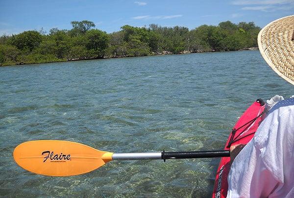 Kayaking to Indian Key in the Florida Keys