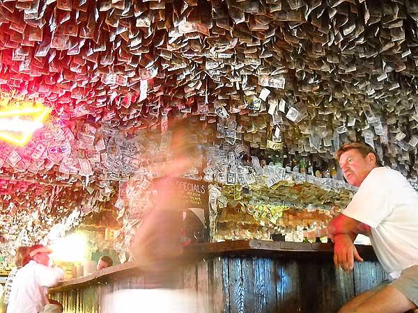 Florida Keys: No Name Pub interior, Big Pine Key