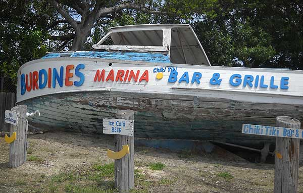 burdines sign Three Florida Keys restaurants that are hard to find but worth it