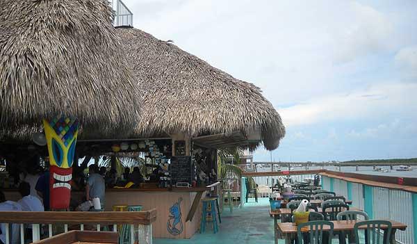 Florida Keys tiki bars: The Chiki Tiki at Burdines Marina