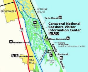 castle windy trail 1 Castle Windy Trail at Canaveral National Seashore