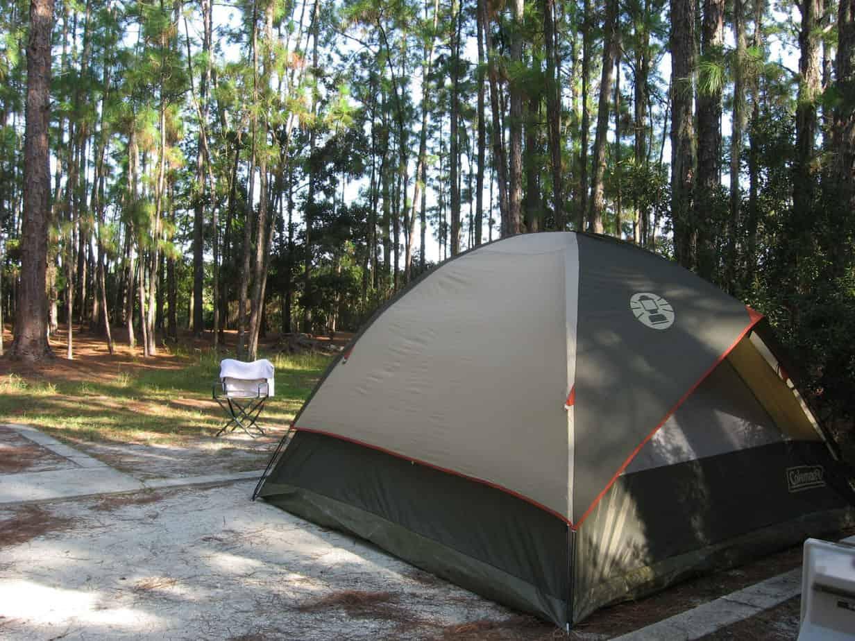 moss park campsite Moss Park offers best camping near Disney