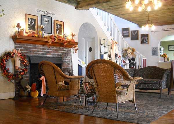 seminole inn lobby Seminole Inn: A charming survivor of Old Florida
