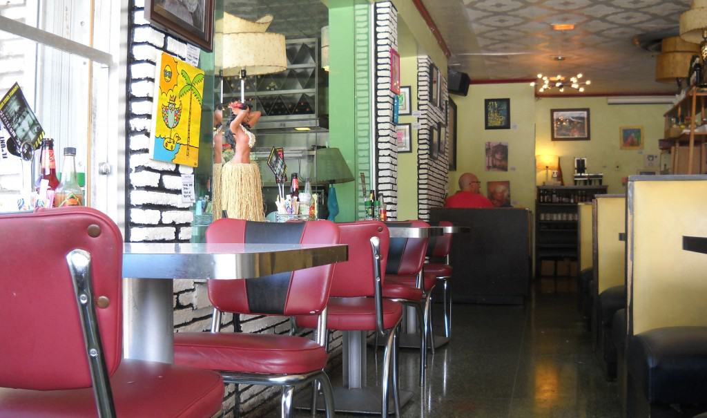 West Palm beach diner: Howley's interior