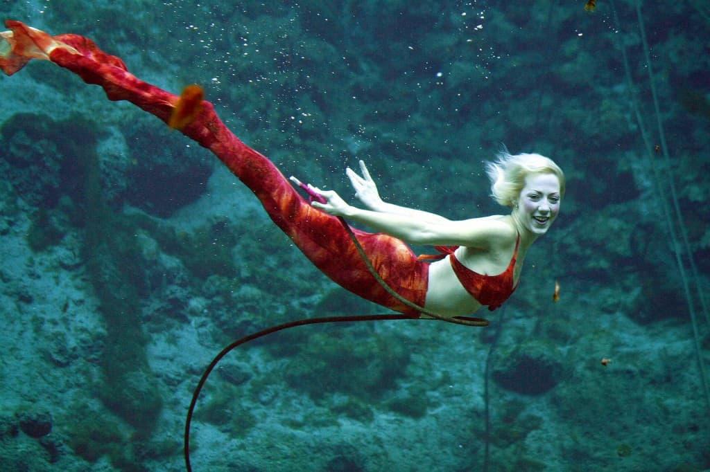 The Little Mermaid courtesy Weeki Wachee Springs State Park