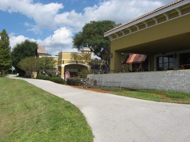 Halfway point of the Seminole Wekiva Trail at the Shoppes of Oakmonte.