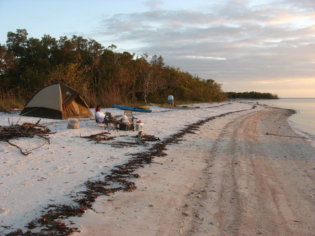 Campsite on Panther Key