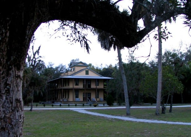 Koreshan historic building: The Planetary Court., within 10 minutes of I-75 in Florida. (Photo: Bonnie Gross)