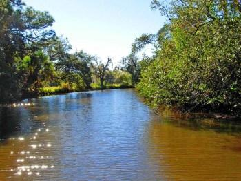 North prong of the St. Sebastian River