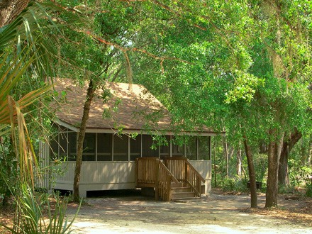 Cabin at Blue Springs State Park, Florida