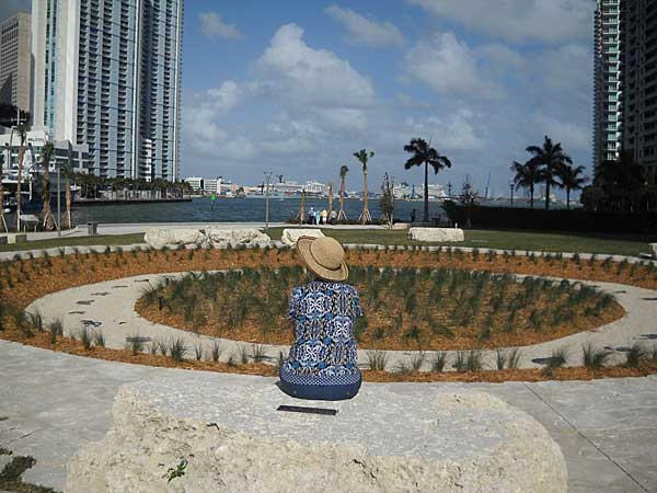 Native Americans in Florida: The view at the Miami Circle Park has a spectacular view. (Photo: David Blasco)