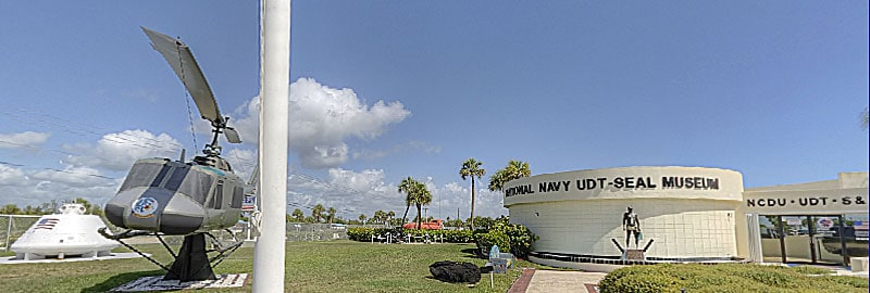 National Navy UDT-Seal Museum, exterior view