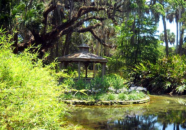 Gazebo in Washington Oaks State Park, Palm Coast