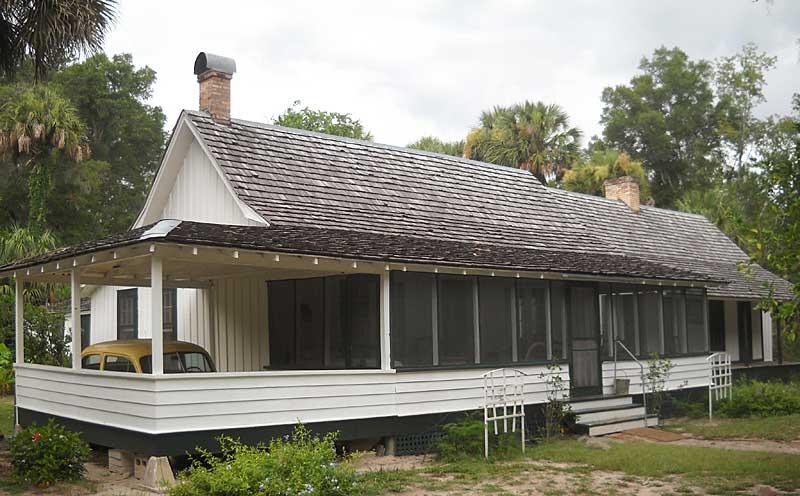 Cross Creek, home of author Marjorie Kinnan Rawlings at Marjorie Kinnan Rawlings Historic State Park