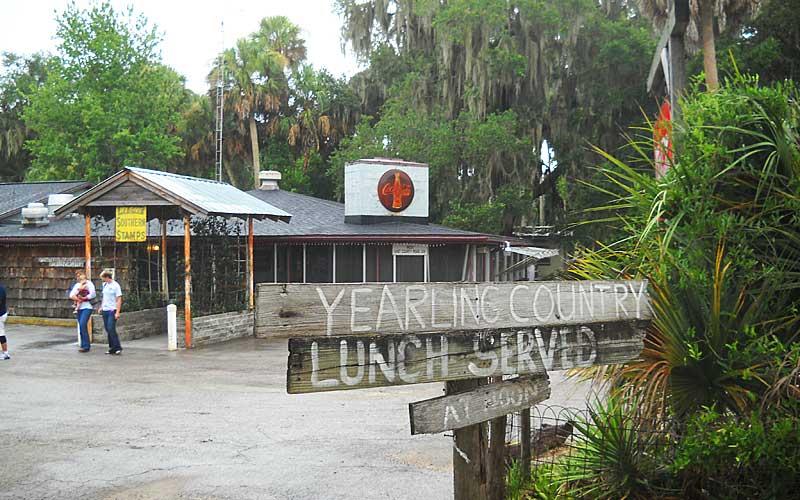 The Yearling restaurant near Marjorie Kinnan Rawlings Cross Creek home.