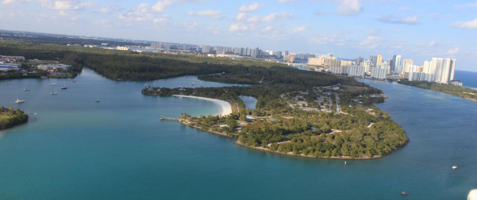 Oleta State Park from the air. (Photo: Florida State Parks)