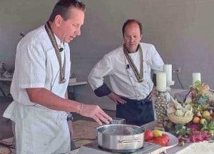 Chefs at Cedar Key Seafood Festival