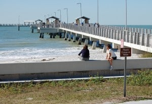 Fishing pier at Fort Desoto