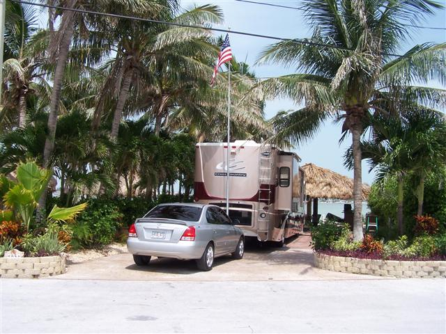 Key West camping Bluewater Key RV Park