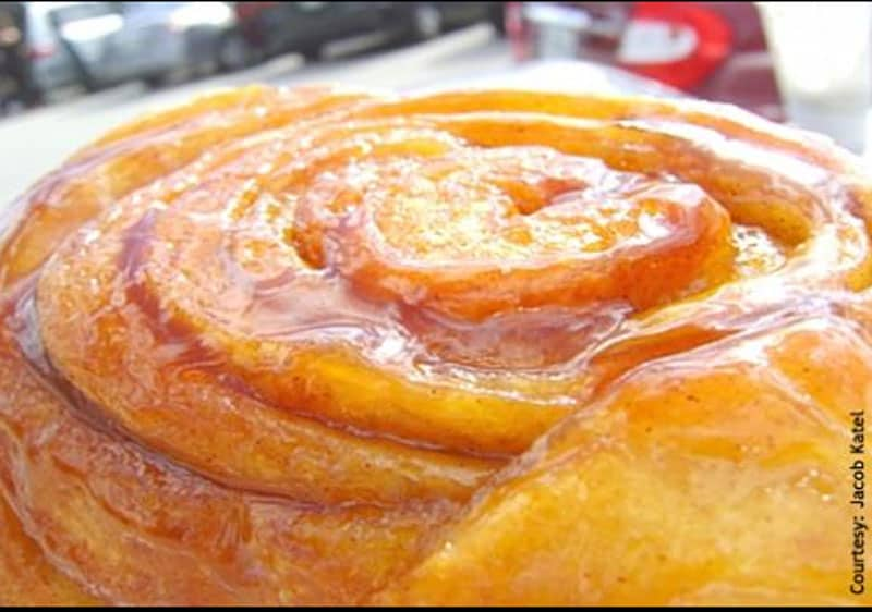 Cinnamon rolls from Knaus Berry Farm