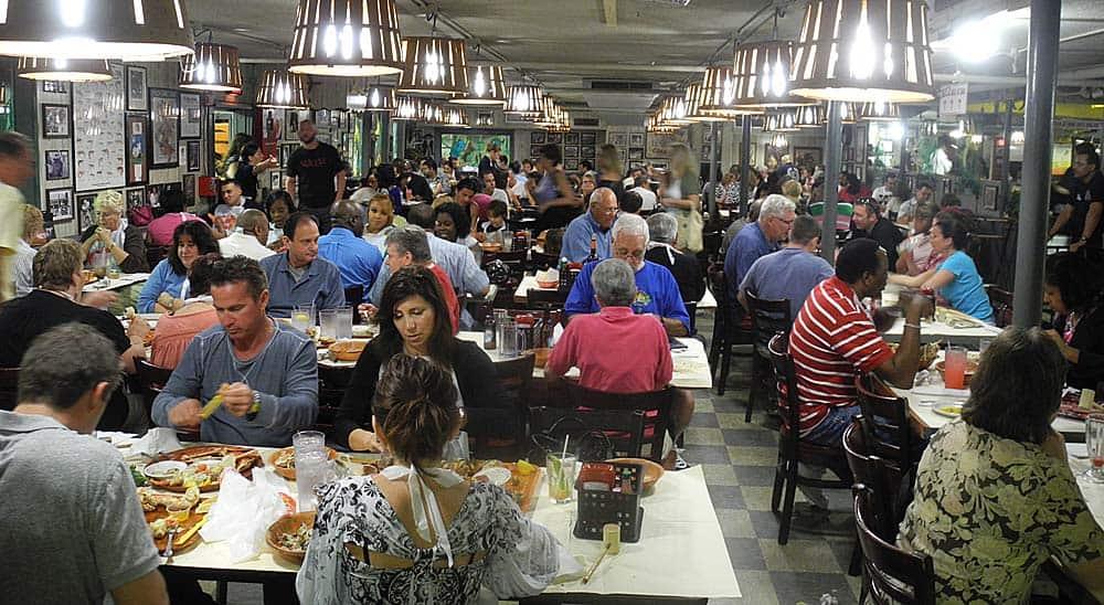 Best seafood in Florida: Rustic Inn in Fort Lauderdale