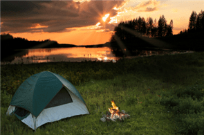 backpacking tent Reader asks 'Where can I go primitive camping in Central Florida?'