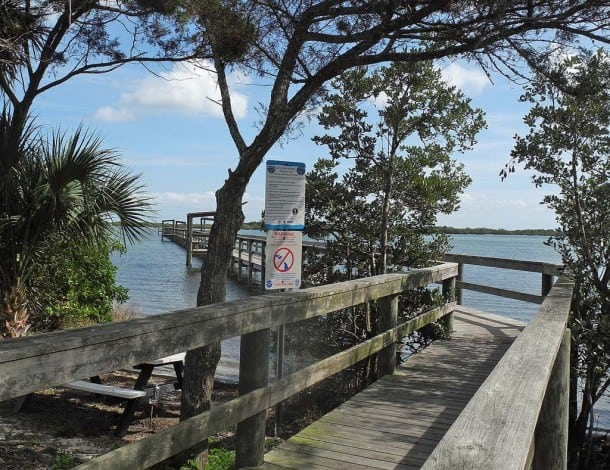 oakhill fishing pier Oak Hill: Outpost on Mosquito Lagoon for history, classic seafood shack