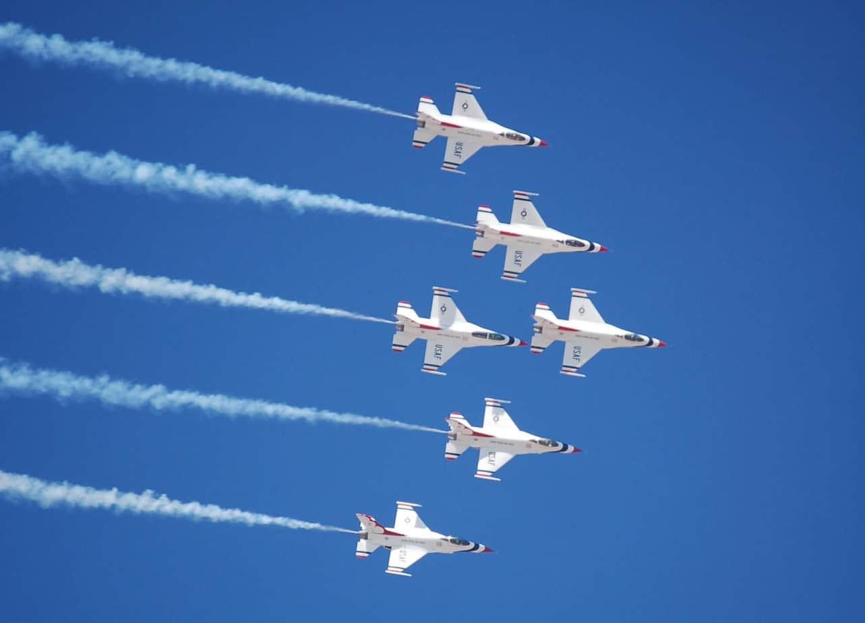 thunderbirds Fort Lauderdale Air Show: Nov. 20-21, 2020