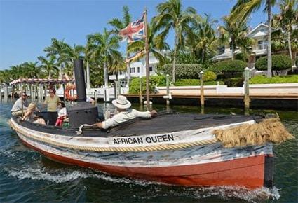 African Queen boat in Key Largo, Florida