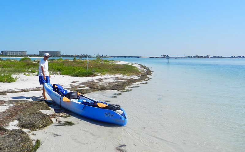 The northern tip of Caladesi Island State Park is a magical place. (Photo: Bonnie Gross)