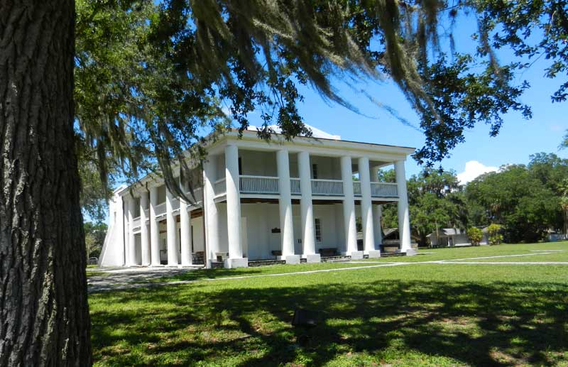 Gamble Mansion in Ellenton, Florida, near Sarasota
