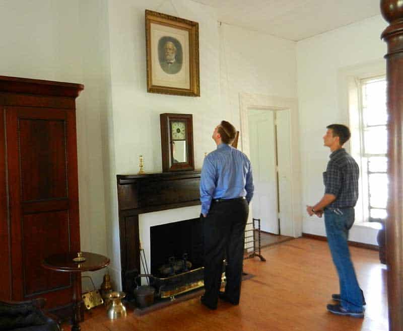 Portrait of Major Robert Gamble at Gamble Mansion near Sarasota
