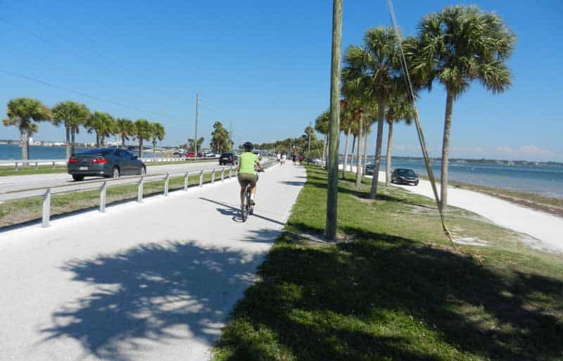 Pinellas Trail spur extends to Honeymoon Island State Park