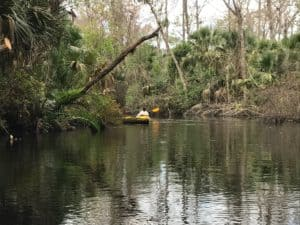 paddle on rock springs run