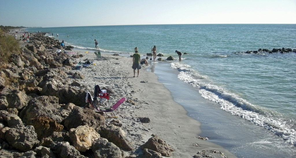 The beaches of Venice FL: Casperson Beach
