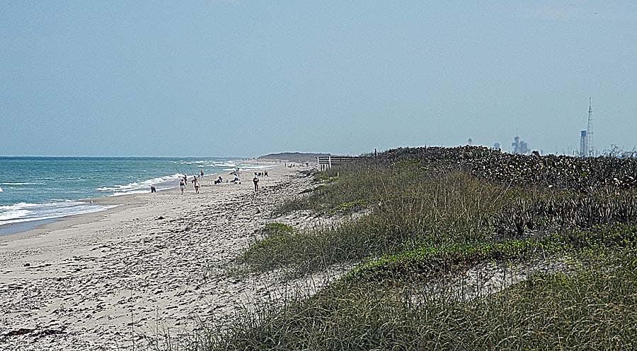 Playalinda Beach at Canaveral National Seashore