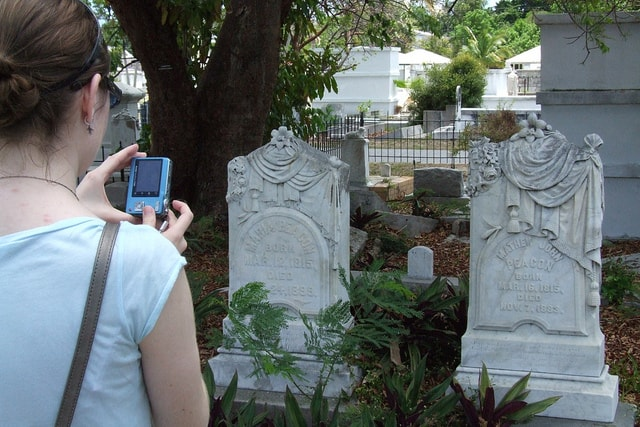 key west cemetery photographer by falling angel Historic Key West cemetery: A scenic stop that is full of stories