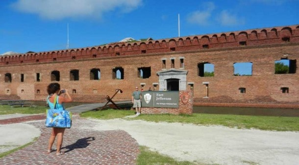 Fort Jefferson in Dry Tortugas National Park is the third largest seacoast fort the U.S. has ever built. Its strategic location was selected to protect the Florida coast and Gulf of Mexico. (Photo: David Blasco)