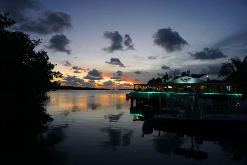 Things to do in Islamorada: Lorelei Cabana Bar and Restaurant, Islamorada, a favorite place to watch sunset. (Photo: Anna Blasco)
