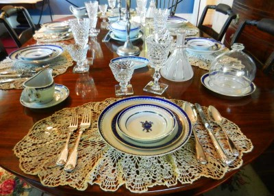 The opulence of the china in the Audubon House dining room demonstrates how lucrative the wrecking business was. For a while, Key West was the richest city in the country.