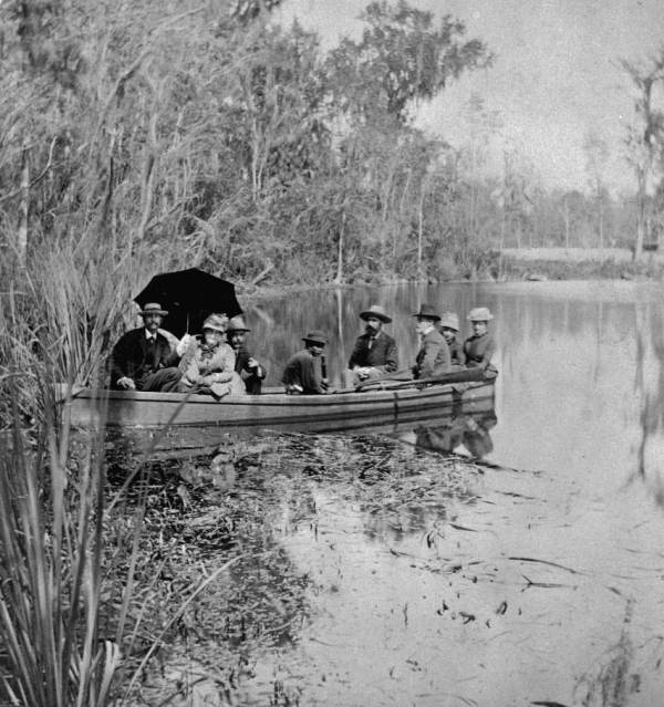 Silver Springs was one of Florida's earliest attraction. This photo, courtesy of the Florida Memory Project, is from the 1880s.