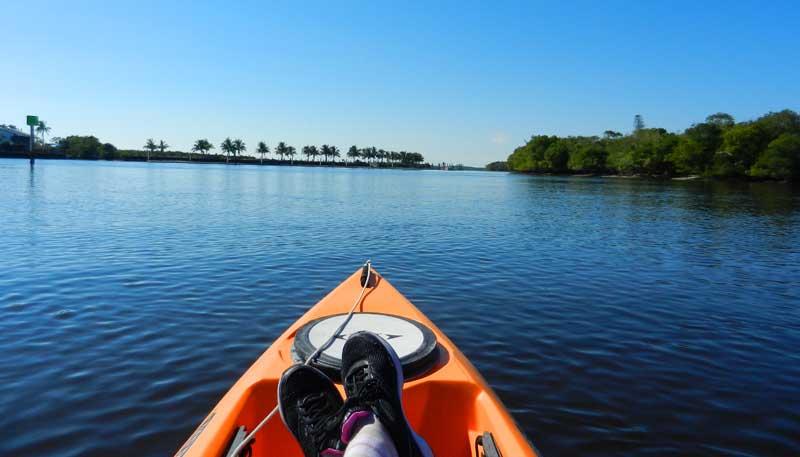 Everglades City kayaking Barron River